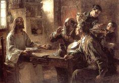 Δείπνος της Εμμαούς. (1892)