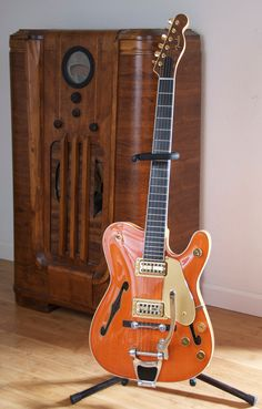 Beautiful Tele / Gretsch hybrid guitar. @Brittany Horton Horton Horton Horton Fender: make this guitar!