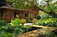 Gardens: 42 dream gardens by leading landscape designers in the philippines Filipino Architecture, Philippine Architecture, Tropical Architecture, Architecture Design, Thai House, Style At Home, Filipino House, Philippine Houses, Bamboo House