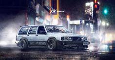 ArtStation - Speedhunters Volvo 940 - Need for speed tribute , Yasid Oozeear
