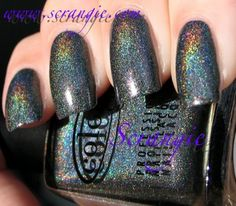 """Color Club """"Revvvolution"""".  Another great holo polish, imo.  This and """"Worth The Risque"""" are from the 2009 collection: Femme Fatale.  (This image is from www.scrangie.com's blog.)"""