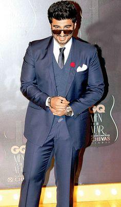 Arjun Kapoor at GQ Men's Awards 2014