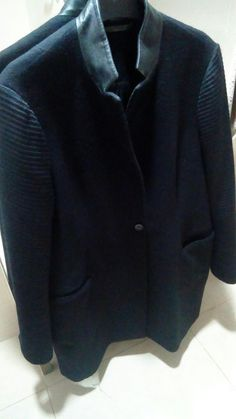 ALL SAINTS BLACK VALLEY COAT SIZE 14 #fashion #clothes #shoes #accessories #womensclothing #coatsjacketswaistcoats (ebay link) Nape Of Neck, All Saints, Vest Jacket, Fashion Clothes, Size 14, Men Sweater, Blazer, Clothes For Women, Link