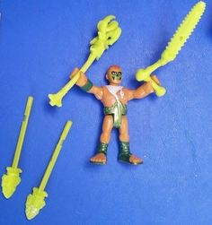Imaginext Saharicus Action Figure Loose 4 Replacement Weapons Tools Fisher-Price #FisherPrice