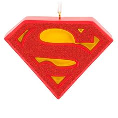 Hallmark DC Comics Superman Shield Christmas Ornament *** Be sure to check out this awesome product.