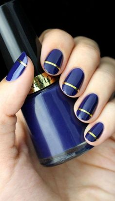 40 Best Nail Polish Designs To Try In 2015 | http://fashion.ekstrax.com/2015/02/best-nail-polish-designs-to-try-in-2015.html