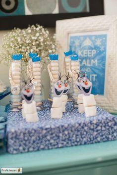 festa frozen em casa
