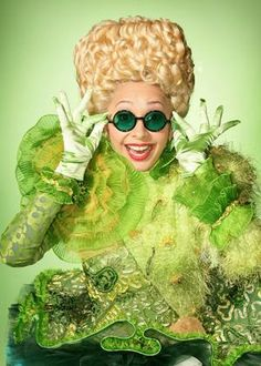 C'mon now....who wouldn't want to live in the Emerald City and wear this everyday??