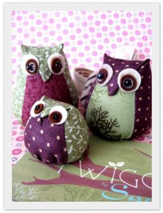 Wise Owls from Efemera Ink