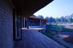La Casona / Vista de Terraza bungaló Uno / @ArqLDSalazar - PARQ Progresivo de Arquitectura