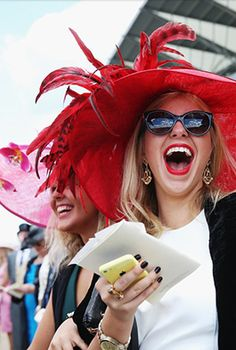 """Royal Ascot is a 5-day fashion extravaganza! No matter the enclosure, attendees bring out their best fashion, and that includes hats or fascinators for almost everyone woman. Even those who attend in areas with very limited dress guidelines """"dress to impress."""""""