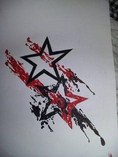 Resultado de imagen de trash polka tattoo