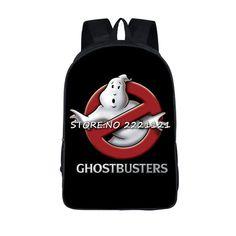 43a598b2b9 Ghostbusters Backpack Students Bags Children s Book Bag Cartoon Movie  Printing School Bags For Teenagers Girls Travel Bagpack