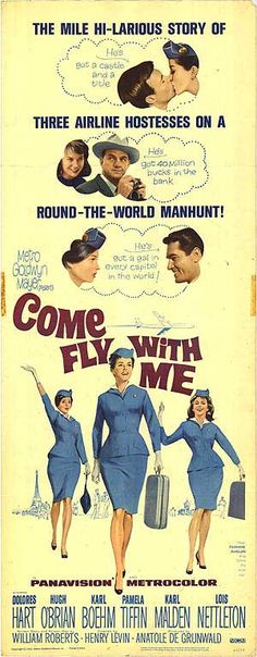 [ COME FLY WITH ME POSTER ]