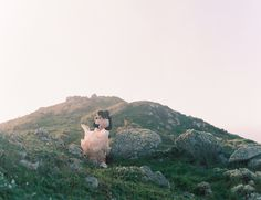 Ethereal Blush Cliffside Elopement - Inspired By This