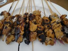 Pork Isaw  (Grilled Pork Intestines)