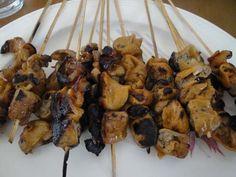 Pork Isaw  (Grilled Pork Intestines)