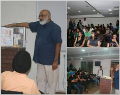 Its was an enlightening Seminar for the students of Interior designing today!  Mr. Karan Grover shared, interacted and discussed the concepts and basics of Interior Designing with students of Virtual Voyage today! — with Dharmin Buch. www.virtualvoyageworld.com