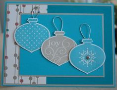 Stampin Up! Delightful Decorations by Wilma