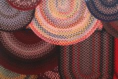 How to Weave Rugs From Fabric Scraps:   Fabric, scissors, and a ruler.   http://www.ehow.com/how_7717132_weave-rugs-fabric-scraps.html