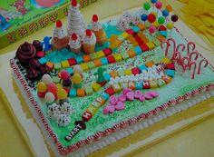 Candyland Cake.