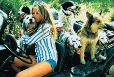 Brigitte Bardot, her dogs & her Mini Moke. Enjoy RushWorld boards,  EYE POPPING CELEBRITY AND ROYALTY PHOTOS,  DOGS DRIVING CARS and MOOD BUSTERS FEEL BETTER NOW.  See you at RushWorld! New content daily.