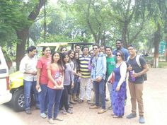 @Mumbai University, with my students of Department of Communication and Journalism...