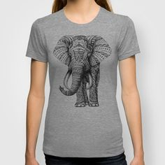 Buy Ornate Elephant by BIOWORKZ as a high quality T-shirt. Worldwide shipping available at Society6.com. Just one of millions of products available.