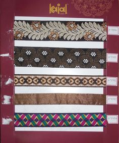 fancy designer banarasi borders