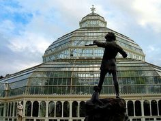 Palm House, Sefton Park Liverpool History, Liverpool Home, Stonehenge, Greenhouses, Where The Heart Is, Great Britain, Peter Pan, Statues, Palm
