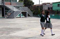 Alumnas de secundaria. Violación del personal. Foto: Margarito Pérez