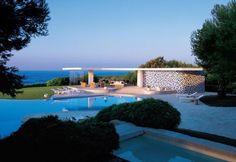 As casas de Oscar Niemeyer: Casa Nara Mondadori, em Cap Ferrat, na França, projeto de 1972