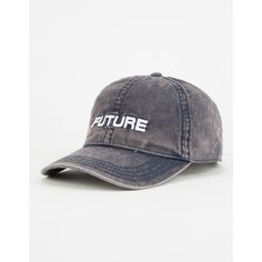 Future Dad Hat ($16) ❤ liked on Polyvore featuring accessories, hats, embroidery hats, bioworld, cotton hat, embroidered hats and bioworld hats