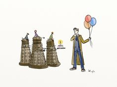 Get your geek on – Dr. Who birthday party