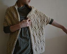 roko knit walnut cardigan