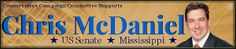 Big Battle:  Conservative Needs Our Help! There is an important election coming up for U.S. Senate pitting Conservative Republican Chris McDaniel against liberal incumbent, Thad Cochran.