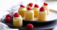 These tiny cakes are a mouthful of decadence! Perfect to serve with coffee or bring around to a Christmas gathering.