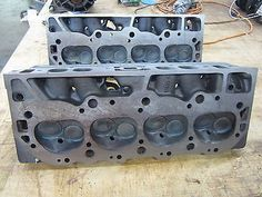 1969 big #block chevy oval port 396 #cylinder heads #3933148 148 heads, View more on the LINK: http://www.zeppy.io/product/gb/2/370600451957/