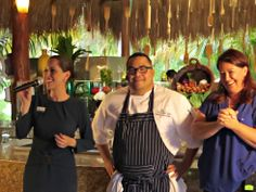 Cooking Demo  Chef Urvin Croes Sommelier Robin Calkin Restaurant Manager Manoli Gonzalez #KendallJackson #KarismaExperience #Foodies #Food #Wine