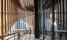 Foster Partners and Heatherwick Studio Pair-Up for Bund Design Center Project