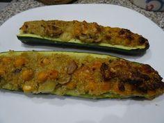 Kusumitras saq b'e Blog: Gefüllte Zucchini - vegan, glutenfrei und super lecker!
