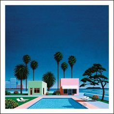 Pacific Breeze: Japanese City Pop, AOR and Boogie Various Artists Vinyl Pacific Breeze documents Japan's blast into the stratosphere. Pop Art Movement, Summer Scenes, Minimalist Architecture, Summer Sky, American Decor, Shops, Japanese Artists, Illustrations, Source Of Inspiration