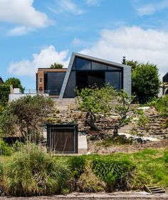 Dorrington Architects & Associates have designed the contemporary renovation of a home in Auckland, New Zealand.
