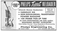 Phelps Turret Reloader 1958 Ad Picture