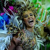 The Rio Carnival in Brazil, who wouldn't want to attend that feather and sequin party!