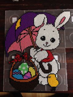 Easter hama perler beads by Dorte Marker