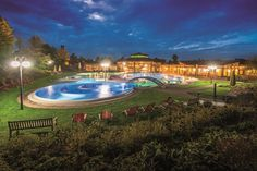 Therme - Aussenbecken - Sonnenhof-Therme Bad Saulgau