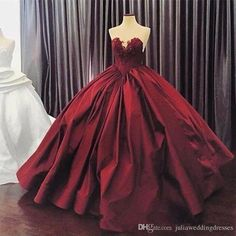 2017 Sexy Luxury Burgundy Quinceanera Dresses Ball Gown With Sweetheart Satin Appliques Sweet 16 Prom Party Gowns QC242 Quinceanera Dresses Quinceanera Dresses 2017 Quinceanera Gowns Online with $205.71/Piece on Juliaweddingdresses's Store | DHgate.com