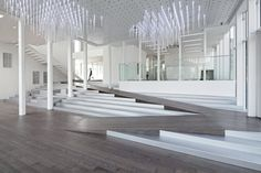 WHITE BLOCK GALLERY BY SSD ARCHITECTURE