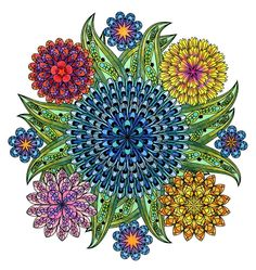 This mandala coloring book for grown-ups is the creative's way to mindful relaxation http://huff.to/1L5drDJ